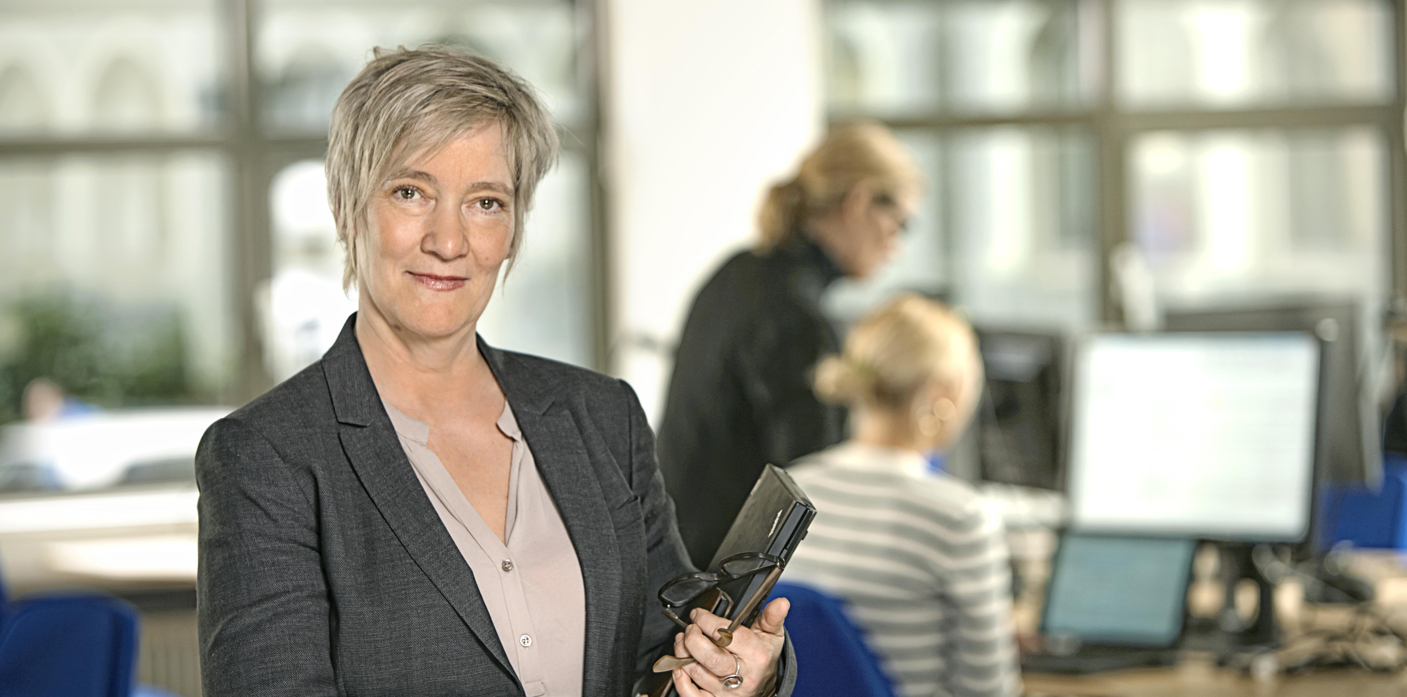 Epic-hankkeen johtaja Gitte Fangel